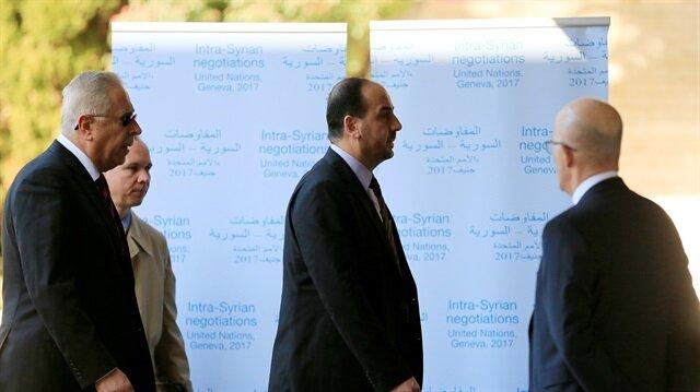 Syrian negotiators arrive for Geneva peace talks