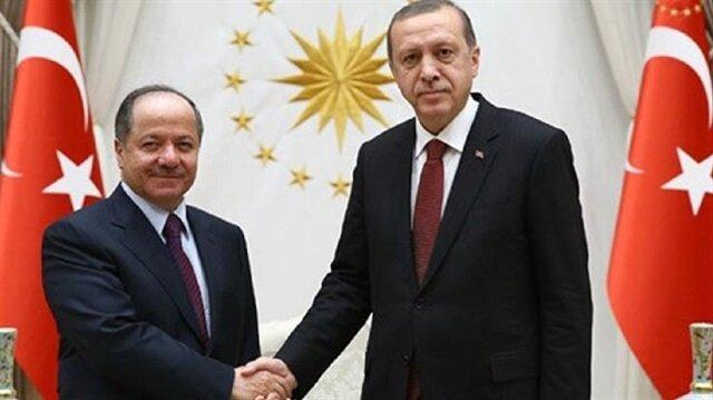 Turkey's Erdoğan to meet Iraqi Kurdish leader