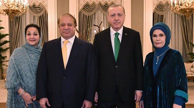 أردوغان يلتقي رئيس الوزراء الباكستاني في أنقرة