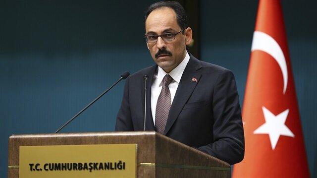 متحدث الرئاسة التركية: لا نتهاون في الامور التي تهدد أمن بلادنا