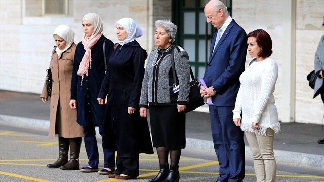 Suriye için Cenevre'de 4. tur başladı