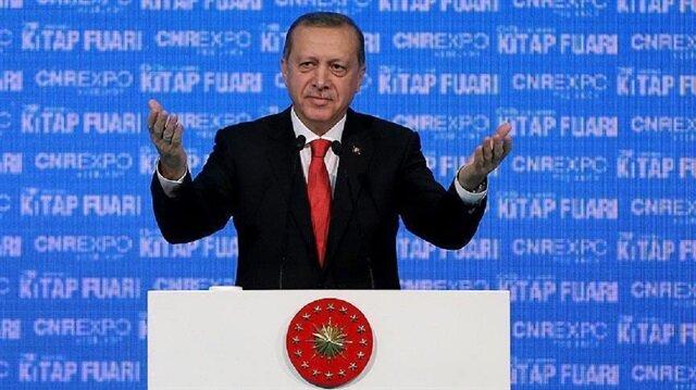 أردوغان: الشعوب التي لا تدون تاريخها وترفد آدابها تبقى أسيرة للآخرين