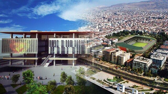 İzmir'e <br/>iki modern stat