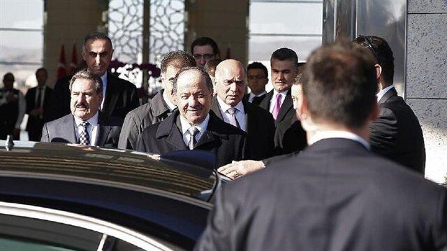 بارزاني يصل تركيا في زيارة يلتقي خلالها أردوغان