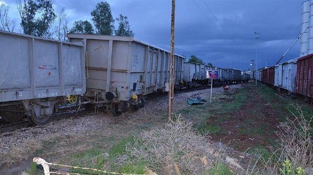 PKK explosive hits freight train in southeastern Turkey