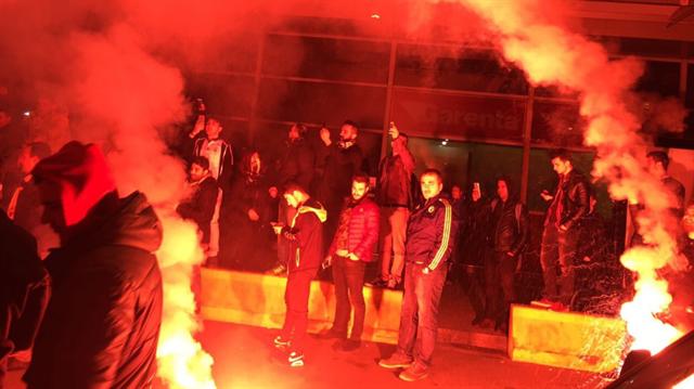 Fenerbahçe'ye <br/>şok karşılama