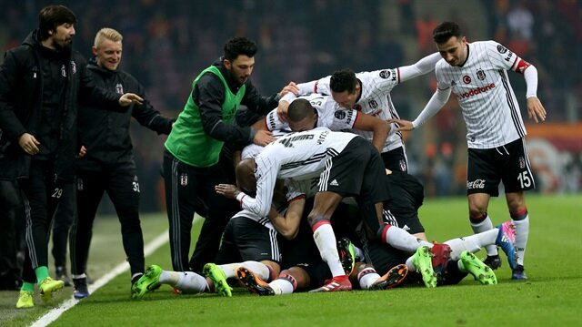Galatasaray-Beşiktaş: 0-1