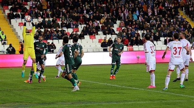 Sivasspor-Konyaspor: 0-0