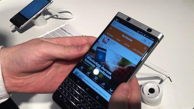 Blackberry Keyone resmen tanıtıldı