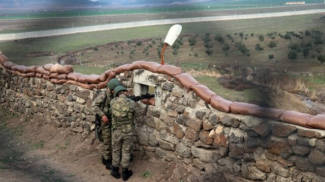 Türkiye-Suriye sınır hattında kuş uçurtmuyor