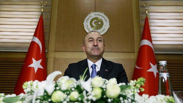 Turkish Foreign Minister Mevlüt Cavuşoğlu