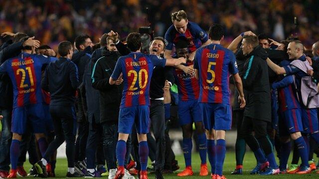 Galatasaray'dan Barcelona'ya tebrik
