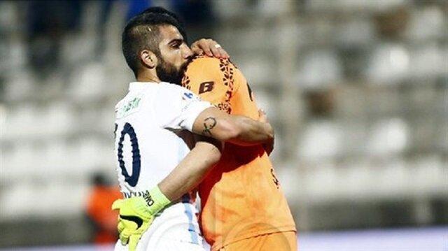 Adana Demirspor-Manisaspor maçında duygusal anlar