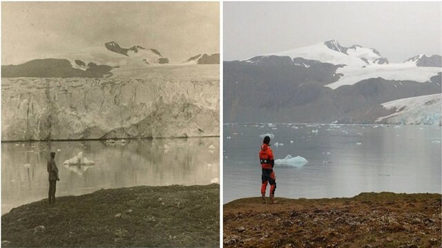 1900'lerden günümüze iklim değişikliğini gösteren 7 fotoğraf