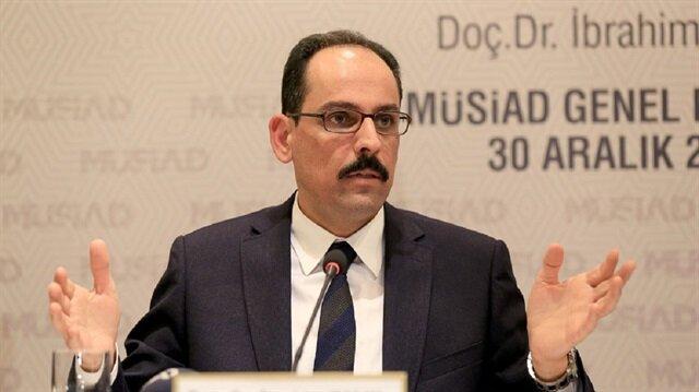 Cumhurbaşkanı Sözcüsü İbrahim Kalın, Almanya'ya sert tepki gösterdi.