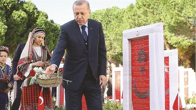 Cumhurbaşkanı Erdoğan: Onlar görevini yaptı şimdi sıra millette