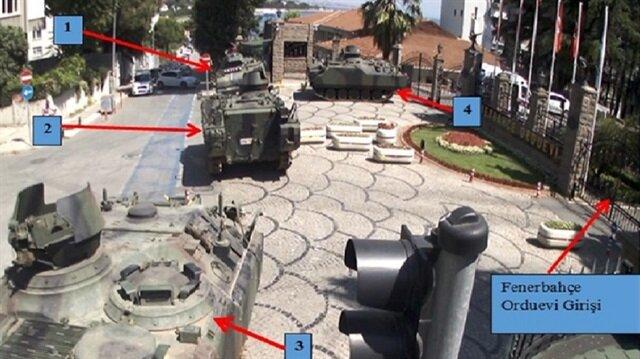 Darbecilerin, Fenerbahçe Orduevi'ni basmaya giderken yanlarında, 4 adet uçaksavar silahı, 6 adet MG-3 ağır makineli tüfek bulundurdukları ortaya çıktı.