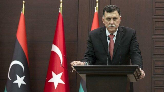 Fayez al-Sarraj in Ankara.