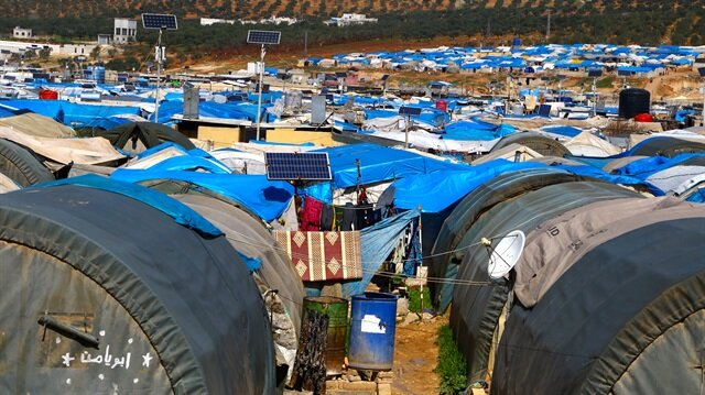 he two largest tent cities boast a host of electric technicians, shoe repairers, butchers, hairdressers and other craftsmen