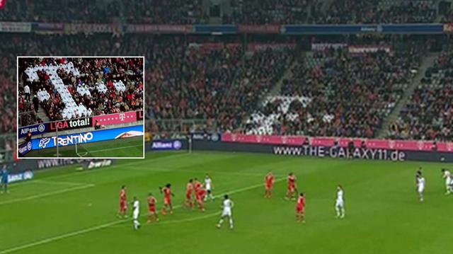 Allianz Arena'daki detayı daha önceden fark etmiş miydiniz?