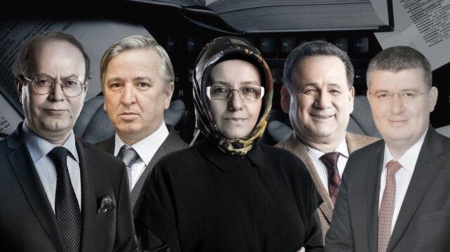 Yusuf Kaplan, Aydın Ünal, Fatma Barbarosoğlu, Bülent Orakoğlu, Mehmet Acet.