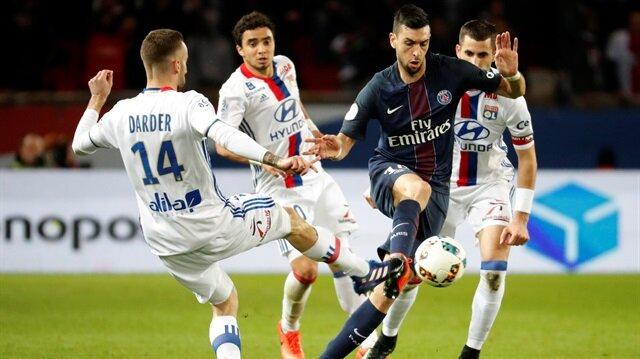Beşiktaş'ın rakibi Lyon PSG'ye 2-1 yenildi