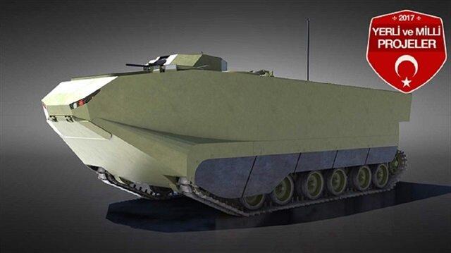 Zırhlı Amfibi Hücum Aracı (ZAHA)
