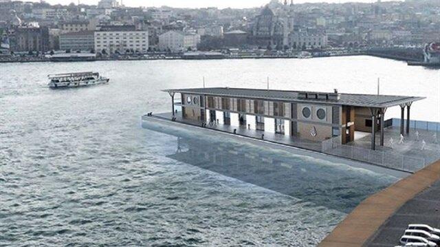 Karaköy'e yeni iskele yapılacak