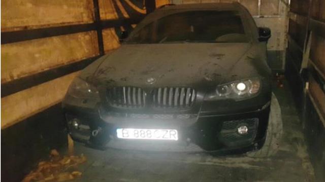 Aracın TIR'la taşındığı tespit edildi.
