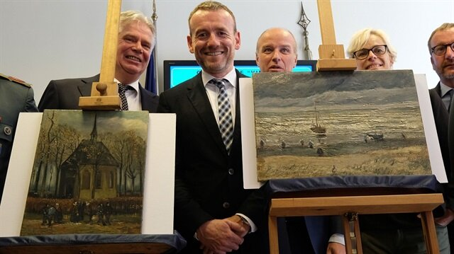 Stolen Van Gogh paintings back in Amsterdam after 14 years