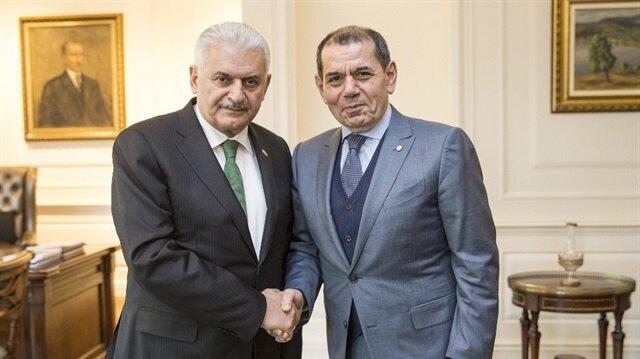 Başbakan Yıldırım <br/>Özbek'i kabul etti