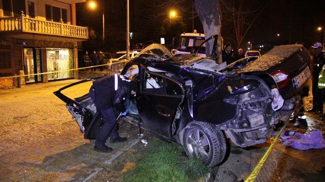 Kocaeli'de trafik kazası: 1 ölü 1 yaralı
