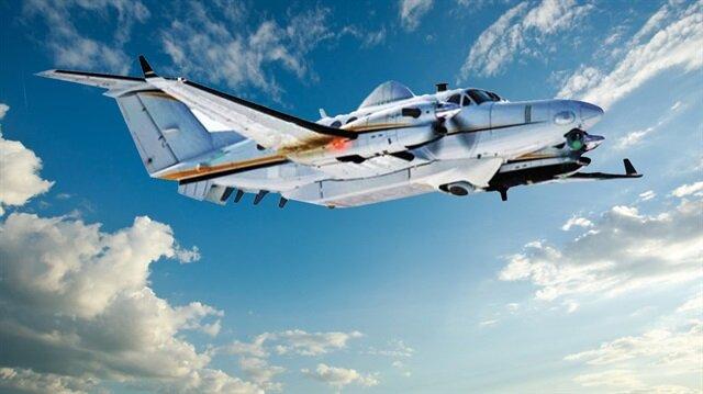 Keşif uçağı silahlanıyor