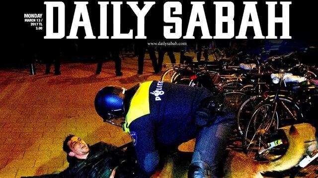Daily Sabah'a yasak koydular