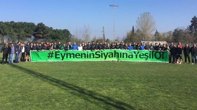 Futbol kulüplerinden minik Eymen için anlamlı destek