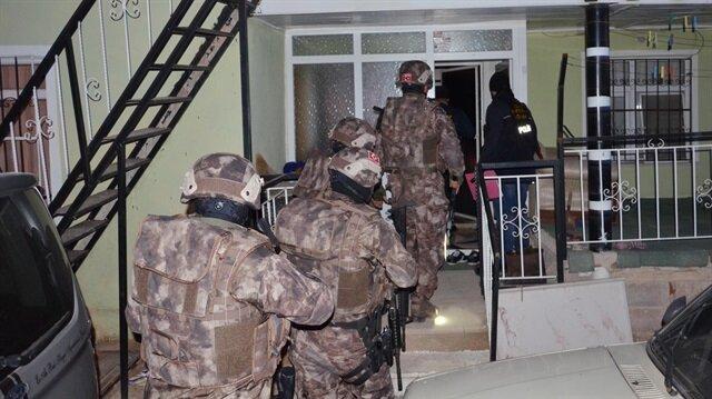 500 polisle uyuşturucu operasyonu: 37 gözaltı