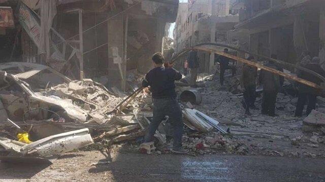 مقتل 12 مدنيًا في غارة للنظام على