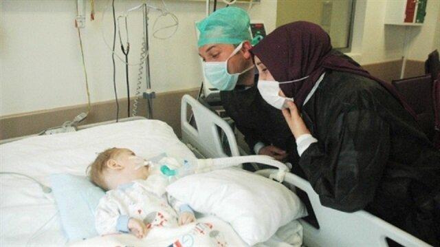 Alanyaspor'dan <br/>Eymen bebeğe destek