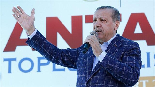 Cumhurbaşkanı Erdoğan: Yalanlara bakmayın