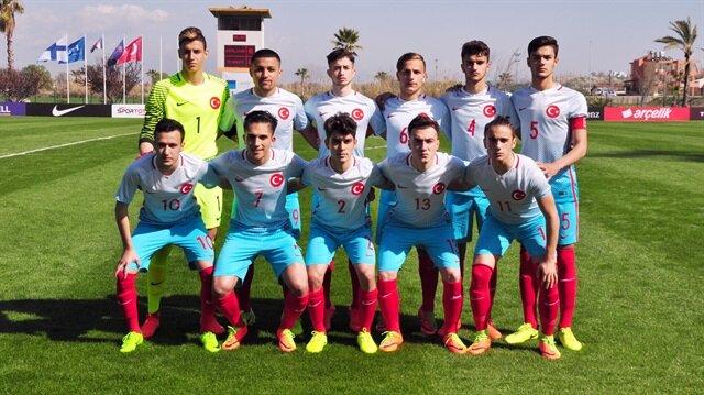 U17 Milli Futbol Takımımız bileti kaptı