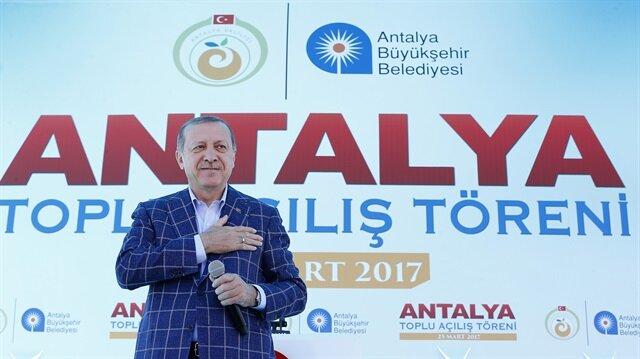 أردوغان: النظام الرئاسي سيقضي على بؤر الوصاية والأوليغارشية