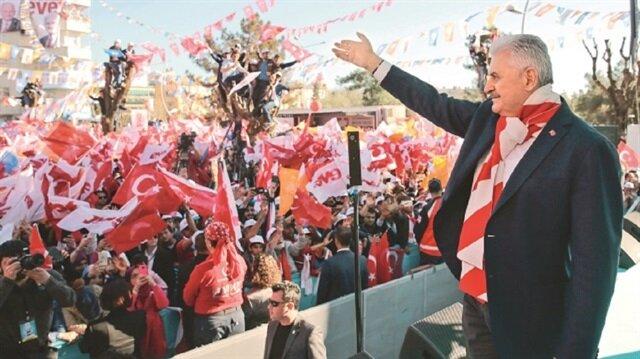 يلدريم: انتقال تركيا للنظام الرئاسي كفيل بتحقيق الاستقرار السياسي