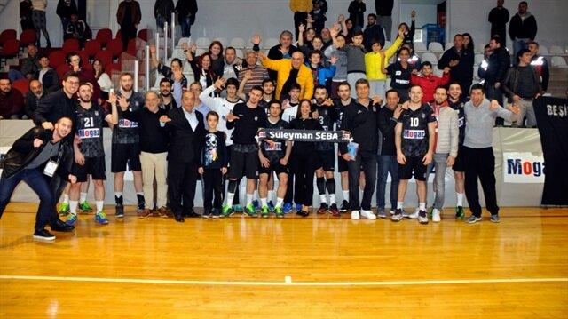 Hentbolda şampiyon Beşiktaş Mogaz