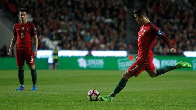 Ronaldo coştu Portekiz kazandı