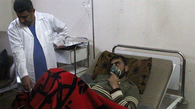 مقتل شخصين إثر هجوم كيميائي للنظام السوري على مستشفى بحماة