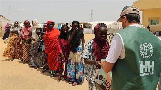 Turkey distributes humanitarian aid in Somalia