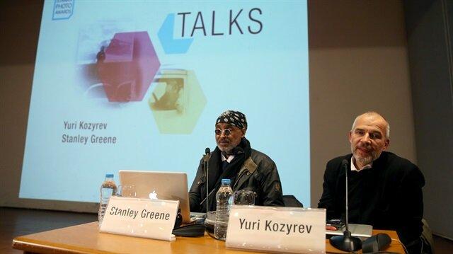 Veteran photojournalists talk to Istanbul audience