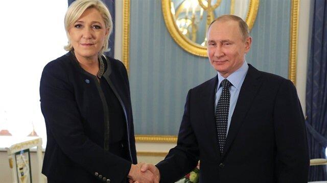 Le Pen: Rusya'dan destek almadım