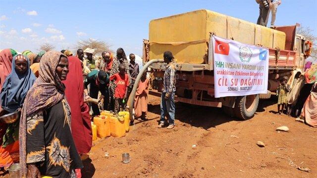 Turkish NGO distributes aid in drought-stricken Somalia