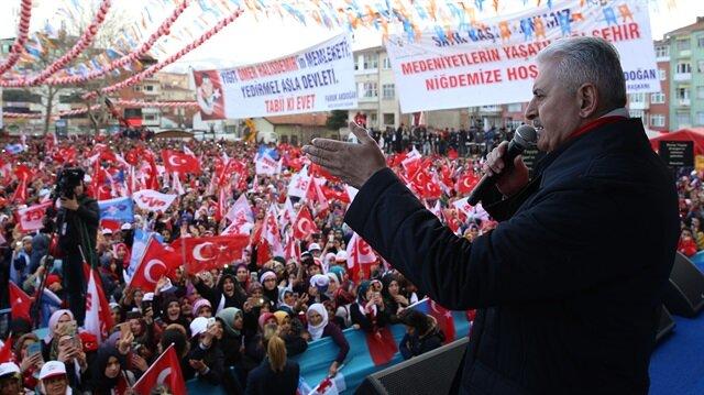 Başbakan Yıldırım: Kılıçdaroğlu metni okusa 'Evet' der